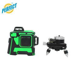 12 Linhas Cruzadas Nível Laser 3D verde para OEM barata