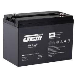 بطارية AICd AICd ذات الرصاص 6V 225AH GEM Battery AGM VRLA لـ عجلات 2 الدراجات الكهربائية/3 عجلات السيارة الكهربائية ثلاثية العجلات/السيارات الكهربائية رباعية العجلات