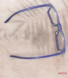 Fancy Prescription frames Unisex Black Square TR90 Zonnebril optische frames