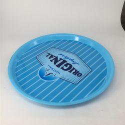 非スリップ円形ビール昇進のギフトのプラスチックアクリルの耐久の卸し売りサービングの皿