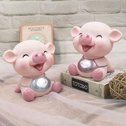 Горячая продажа Cute полимера Pig имеет ступенчатую конструкцию банк деньги в салоне