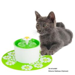 8PCS/Lot는 1.8L LED 자동적인 물 음료분수 고양이 개 새끼 고양이 애완 동물 사발 음료 접시 지류를 위한 탄소 필터를 활성화했다