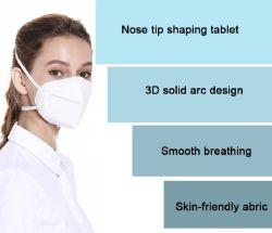 Certificat de délai de production rapide KN95 masque pour Euro Ear-Loop écran facial respirateur de poussière
