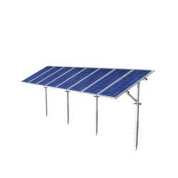 السقف المسطح المسطح المسطح القابل للضبط اللوحة الشمسية الطاقة القوس نظام تركيب على شكل T