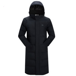 USB 격렬한 재킷 겨울 옥외 애인 긴 두건이 있는 난방 외투