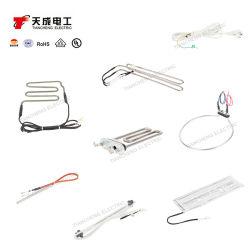 Elemento riscaldante tubolare dell'acciaio inossidabile personalizzano/OEM per l'elettrodomestico, riscaldatore elettrico
