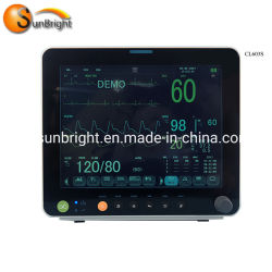 Draagbare Batterij 6 van het Ontwerp van het Handvat Ingebouwde Vervangbare de Geduldige Monitor van Parameters