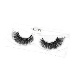 60 매듭 또는 케이스 섬모를 접붙이는 자연적인 가짜 속눈썹 연장 메이크업 10d 밍크 개별적인 가짜 눈 채찍질 직업적인 가짜