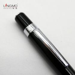 2020 Lingmo 뉴 화이트 컬러 럭셔리 볼포인트 펜 OEM 로고 볼펜 사용자 지정 디자인