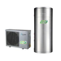 Split Type AC pour la pompe à chaleur pour le ménage de l'eau chaude sanitaire