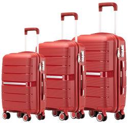 Eben konzipierter Form-Qualitäts-Polypropylen-Laufkatze-Gepäck-Beutel