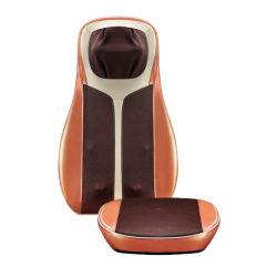 China fábrica para la casa Japonesa de Shiatsu silla de coche doble cuello y espalda glúteos amasar y compresión de aire en cojín de masaje con calor infrarrojo