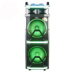 Multifunktions 12 verdoppeln beweglicher Laufkatze-Lautsprecher der Zoll Subwoofer Lautsprecher-Systems-100W mit dem blauen Zahn