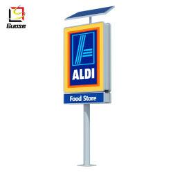 Le prix du gaz signe utilisé des équipements de stations de gaz à la vente pylône signer