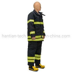 Standardflammhemmende Kleidungs-feuerbeständiger Overall des feuerwehrmann-En469
