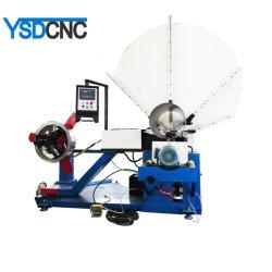 Ajustable de aire HVAC tubo eléctrico flexible de conducto de espiral que hace la máquina