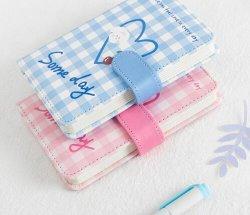 Cuoio da tasca personalizzato del coperchio dell'unità di elaborazione del taccuino dei blocchetti per appunti