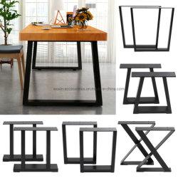 Haarnadel-Tisch-Schreibtisch-Prüftisch-Bein-Schoner-Fuss-Stahl-Metall