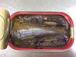 Melhor qualidade de peixes sardinha em lata de óleo vegetal 125g