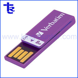 Mini USB Flash Memory Stick Clip para Empresa Dom Quente