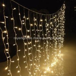 LEIDENE Decoratie 480 van Kerstmis leiden van Navidad van de Lichten van het Gordijn LEDs
