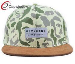 6 Bouton Snapback du panneau de gros chapeau avec Patch tissés personnalisés