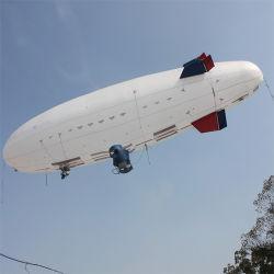 Longue endurance dirigeable Unmaned UAV de plein air de l'Hélium dirigeable Gaint dirigeable pour des fins militaires