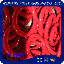 O-type anneau circulaire en acier solide ronde en acier inoxydable plaqué de cuivre galvanisé
