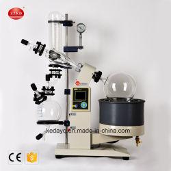 Compacto de laboratorio de jarabe de 5L la caída de la película evaporador rotativo de vacío