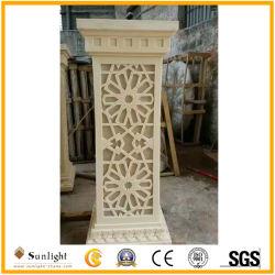 Polyresin Sandstein-Laterne-Fertigkeiten für Ausgangs-oder Garten-Dekoration