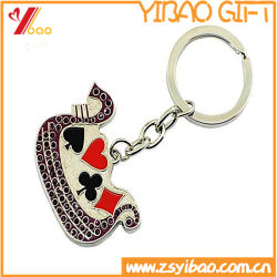 Custom Metal Key Chain Hard Emaille/Soft Emaille For Advertising Gifts (Yb-K-001)