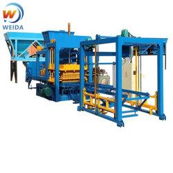 machine de formage de bloc de béton auto brique caler la machine faisant bloc4-15 Qt Machine Industrielle bon prix