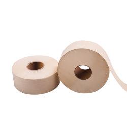 2 capas de papel higiénico productos son fabricados por pulpa de madera virgen o pasta de bambú rollo Jumbo