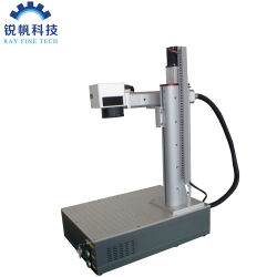 machine de marquage au laser à fibre Jpt 70W au service de porte
