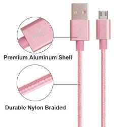 Câble de la foudre, nylon tressé Câble Micro USB haute vitesse USB V8