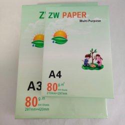 A3 A4copy kundenspezifisches Firmenzeichen-Papierdrucken-preiswertes Preis-Selbstkopierpapier-kohlenstofffreies Papier