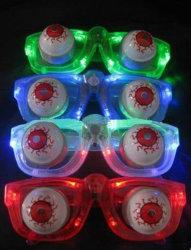 Мигающий смешные очки партии и Хэллоуин светодиод мигает очки (TV592)
