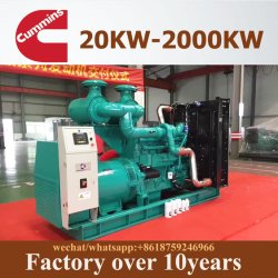 A Cummins/Weichai/Ricardo AC 25kVA-2500kVA Diesel Eléctrico do gerador de energia