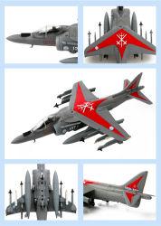 도매는 All Extra Details를 가진 1/48년 Scale에 있는 AV 8b Fighter Jet Model를 정지한다 Cast