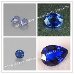 Coupe semi pierre précieuse pour la nature Sapphire