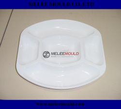Cantina de plástico de cuerpo a cuerpo personal de Comedor Plato el molde