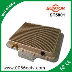 5.8GHz 30km émetteur et récepteur sans fil à Internet