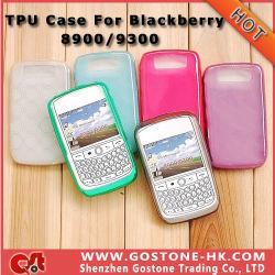 8520 Housse silicone, de haute qualité Cas TPU pour Blackberry Curve Torch Bold 9900, 9800, 9700, 9780, 9000, 9650, 8900, 8520, 9300 (Accepter Mix / Modèle de couleur