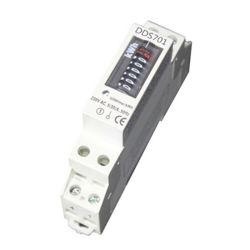Fase única para calha DIN electrónica activa / medidor Watt-Hour reativa