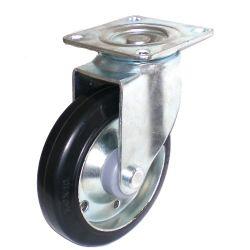 Las ruedas de goma en acero (TF01-11-125S-606)