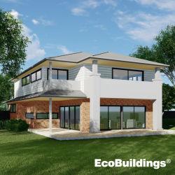 시드니 자유로운 디자인 현대 강철 구조물 편리한 살아있는 모듈 집 조립식 가옥 홈