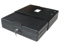 صندوق آمن للسيارات المحمولة من الفولاذ بالكامل للماسح والأشياء الثمينة الصغيرة (T-38CS)