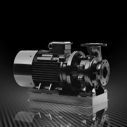 Горизонтальный центробежный водяной насос с механическим уплотнение