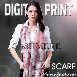 De digitale Afgedrukte Sjaal van het Kasjmier