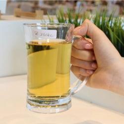 La coutume de haute qualité en verre de bière potable incassable tasse avec des prix bon marché